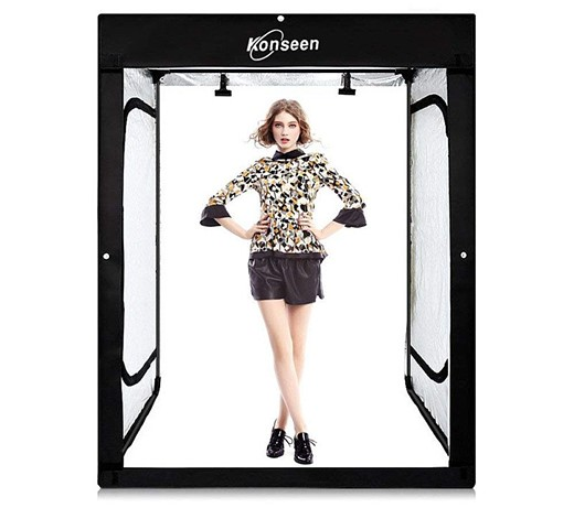 Konseen launches Photo Studio, a portable light box tent for portraits