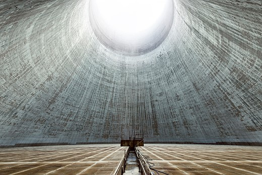 Power struggle: Hauntingly beautiful images of abandoned cooling towers 4