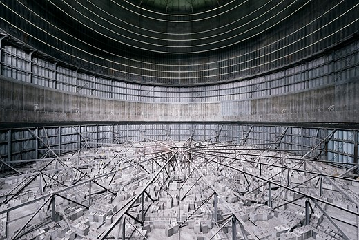 Power struggle: Hauntingly beautiful images of abandoned cooling towers 10