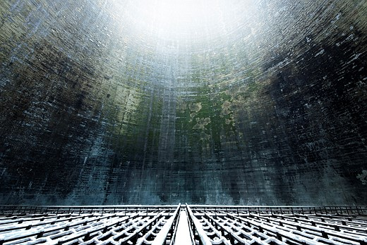 Power struggle: Hauntingly beautiful images of abandoned cooling towers 8
