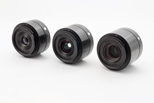 Sigma Art DN 19, 30 y 60 mm f/2.8
