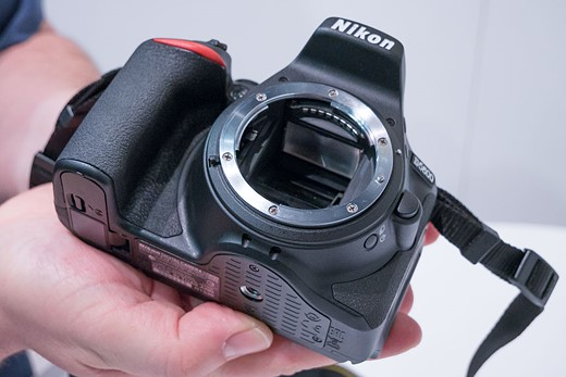 CES 2017: Hands-on with Nikon D5600: Digital Photography Review
