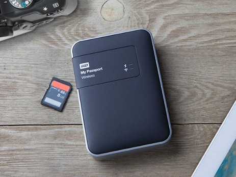 When a memory card is inserted into the drive it can be set back up your photos or automatically ingest all images then wipe the card clean afterwards. & Western Digital launches My Passport Wireless hard drive with built ...