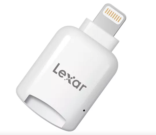 new arrival 2c5d1 d5c2a Lexar offers microSD dongle with an Apple Lightning connector ...