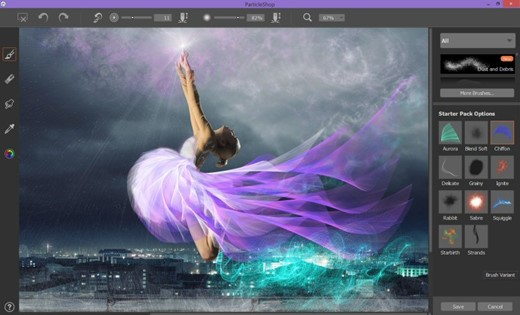 Corel Releases Particleshop Brush Plugin For Photoshop Lightroom on Free Mouse Paint Pack