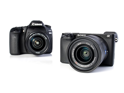 Canon EOS 80D vs Sony a6300: vying for the stills/video hybrid crown 3