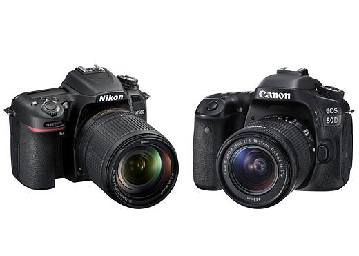 Nikon D7500 vs Canon EOS 80D 1