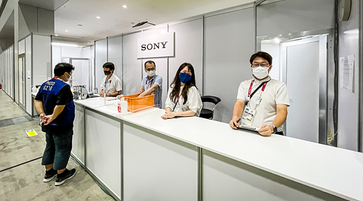 Gallery: Photos of Sony's 2020 Tokyo Olympics service center — a1 bodies, GM glass and more