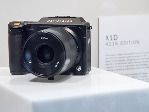 Photokina 2016: Hands-on with Hasselblad X1D 9