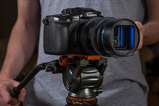 Hands-on with the Sirui 35mm F1.8 1.33x anamorphic lens