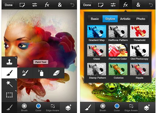 adobe photoshop touch now for android and ios smartphones digital rh dpreview com Adobe Photoshop Tools Adobe Photoshop Elements