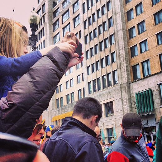 Boston Marathon snapshots take on new meaning