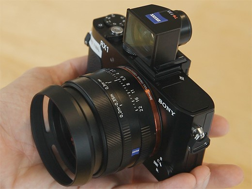 Just Posted: Sony Cyber-shot DSC-RX1 full frame fixed lens