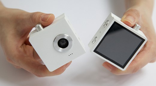 Modular concept camera captures photographer and subject simultaneously