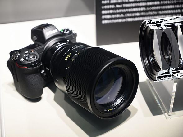 CP+ 2019: Finally - Nikon has cut a Z Noct 58mm 0 95 S in
