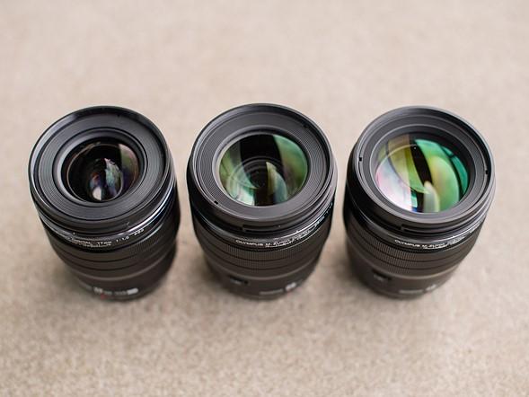 Olympus Digital ED 17mm F1.2 and 45mm F1.2 Pro lenses