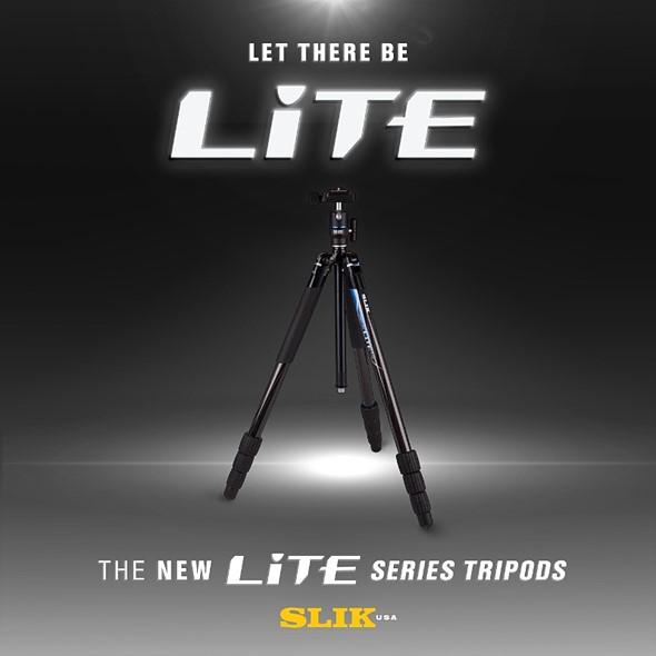 SLIK introduces SLIK LITE tripod line 1