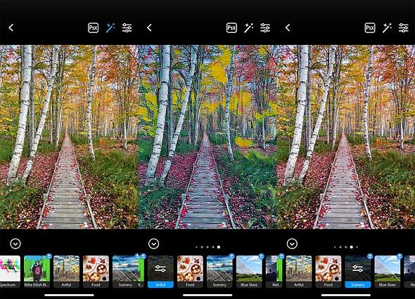 """适用于Android和iOS的Adobe Photoshop Camera应用程序,提供AI驱动的""""镜头""""插图(2)"""
