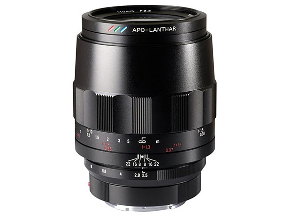 Voigtlander releases details and price of its 110mm F2.5 Macro APO-Lanthar for Sony E-Mount