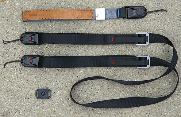 New gear and impressions: Peak Design's 'Leash' shoulder and 'Cuff' wrist strap