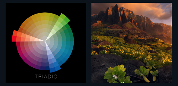 Applying color theory to landscape photography 2