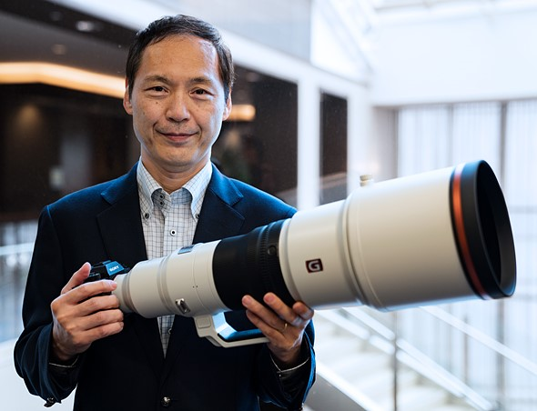 'Future lenses for today': Sony's Yasuyuki Nagata talks high-end optics