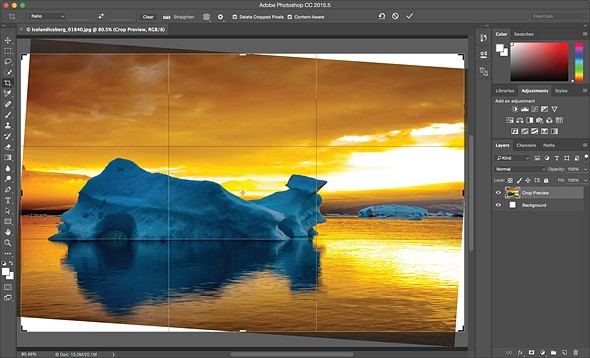 Adobe updates PhotoShop CC with content-aware crop, face