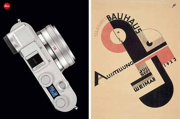 Special edition Leica CL kit celebrates 100th anniversary of the Bauhaus school of art & design