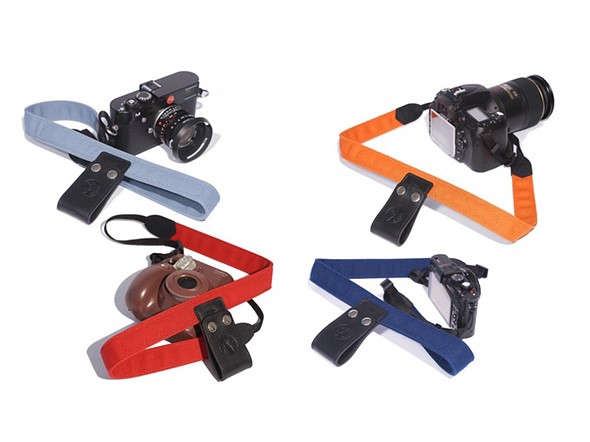 Camera Lift-Strap eases camera weight by clipping to a backpack ...