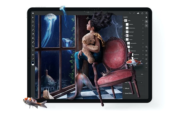 Adobe fulfills its promise: Photoshop on iPad is officially here