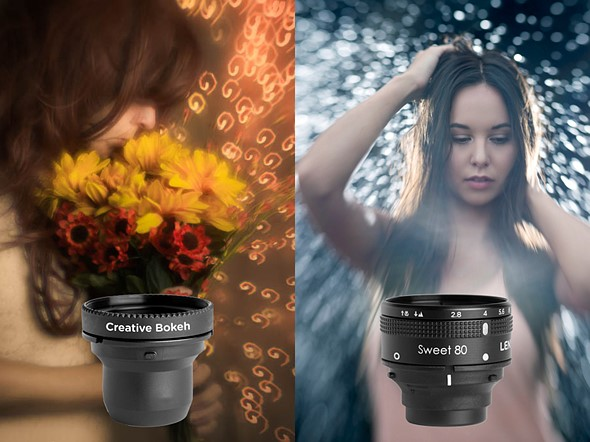 Lensbaby unveils Creative Bokeh and Sweet 80 optics