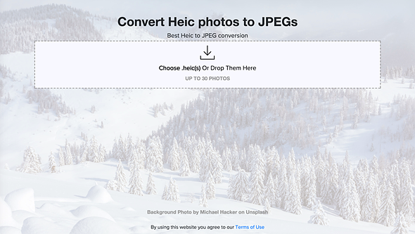Bookmark this HEIC to JPEG converter if you're upgrading to