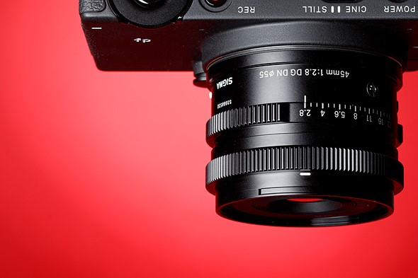 Gear of the Year 2019 - Carey's choice: Sigma 45mm F2.8