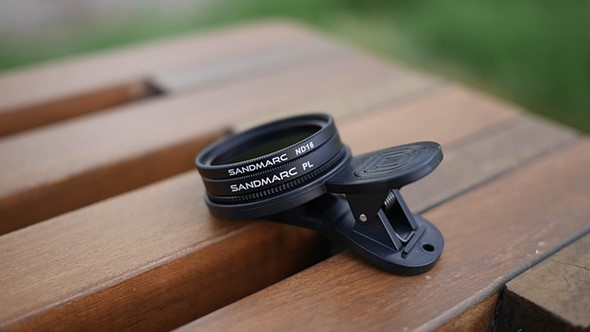 Sandmarc launches Kickstarter for smartphone polarizer and ND-filters 2