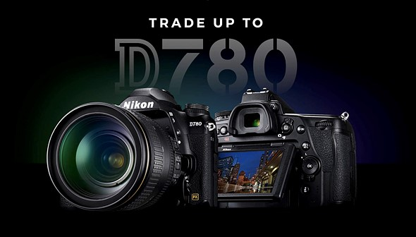 Nikon launching limited-time 'Trade Up' program in the United States for its D780 DSLR