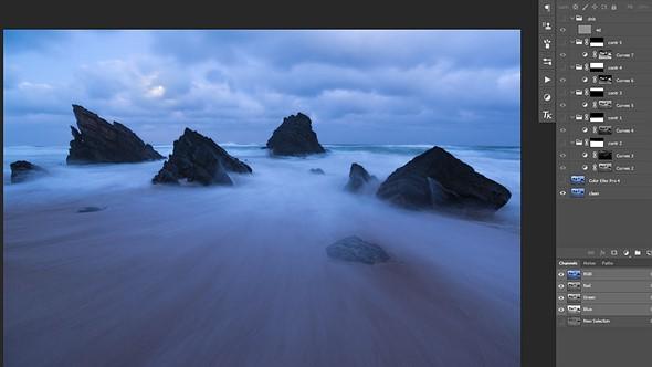 Behind the shot: Praia da Adraga at blue hour 5