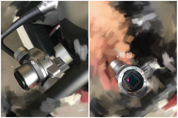 Update Comparing This Image To The Size Of Previous DJI Lens Mounts And Noting 32 Aspect Ratio Sensor Were Confident Leaked Shows