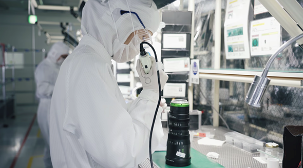 A quick tour of Fujifilm's camera and lens factory in Sendai, Japan