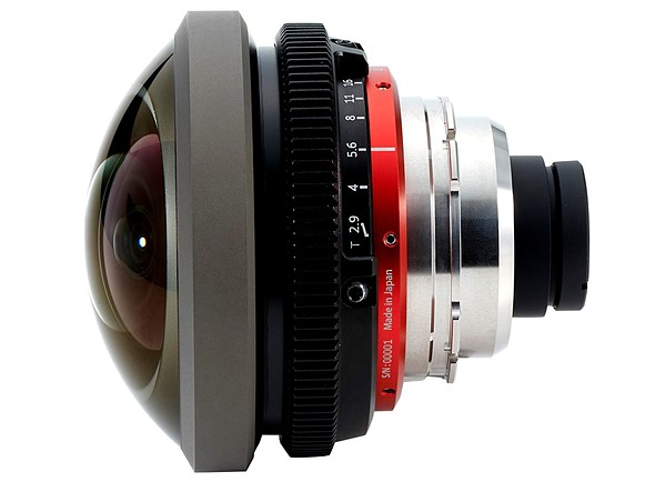 Entaniya announces 220-degree PL-mount fisheye for Super 35, full