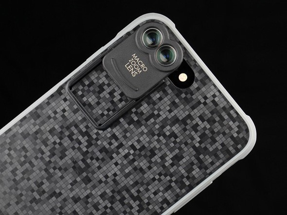 Kamerar ZOOM is a lens attachment for the iPhone 7 Plus dual-camera 1