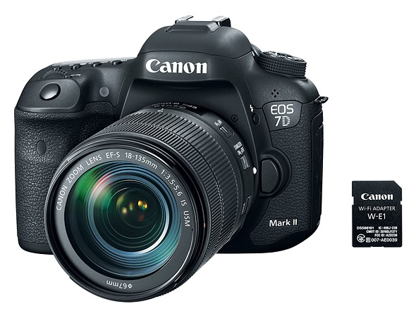 Canon offers SD card-shaped Wi-Fi adapter, EOS 7D II bundle 1