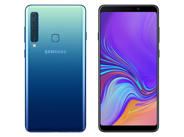 The Samsung Galaxy A9 is the first quad-cam smartphone