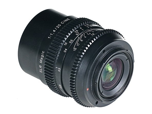 SLR Magic introduces E-mount Cine 25mm F1.4 1