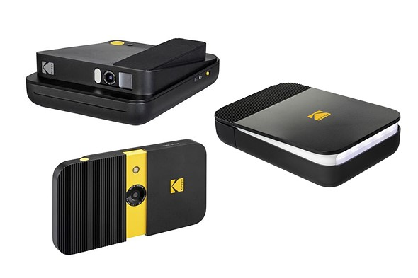 Kodak-branded SMILE lineup includes two instant cameras and a new instant printer