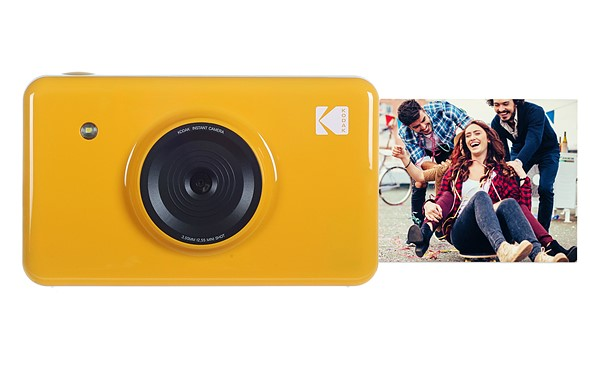 kodak s new mini shot 10mp camera prints tiny instant photos rh dpreview com Kodak Zi6 User Guide Kodak Mini Video Camera Red
