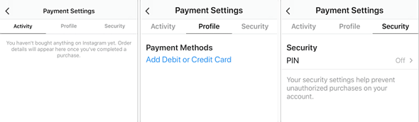 Instagram rolling out ability to link a credit card and buy