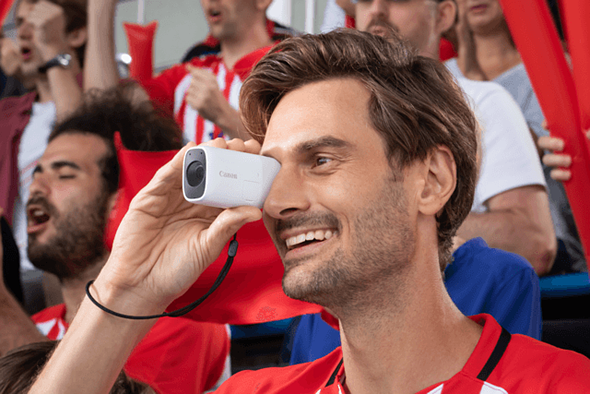 Canon is crowdfunding its monocular-style PowerShot Zoom concept camera in Japan