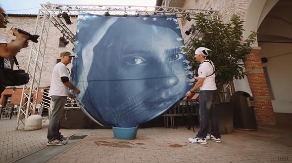 Branco Ottico creates world's biggest contact print at 24 square meters 1