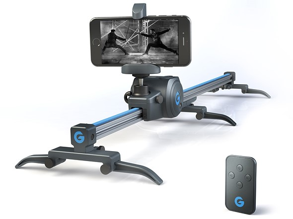 Grip Gear introduces Movie Maker, a tiny slider for smartphones and action cams 1