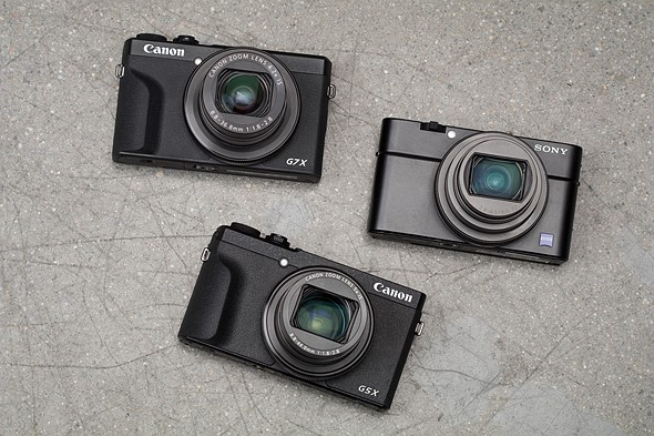 Which has the best lens? Sony RX100 VII vs Canon G5 X II vs Canon G7 X III